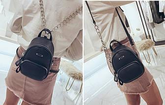 Рюкзак-сумка Lns Black черный eps-8240, фото 3