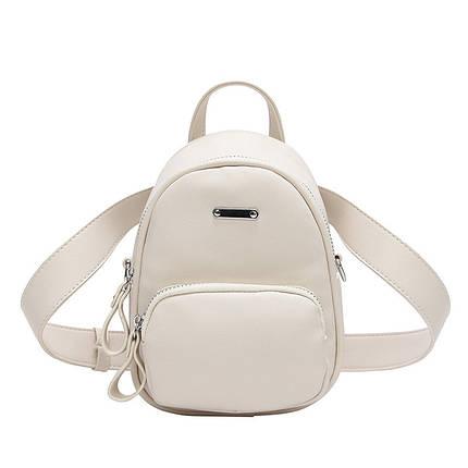 Рюкзак-сумка Lns White белый, фото 2