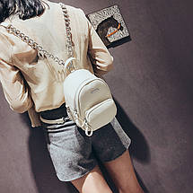 Рюкзак-сумка Lns White белый, фото 3
