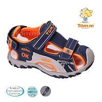 Босоножки, сандалии для мальчика р.21-26 ТM Tom.m С-Т34-15C d/blue