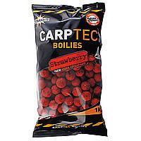 Бойлы тонущие Dynamite Baits CarpTec Strawberry 20mm 1kg
