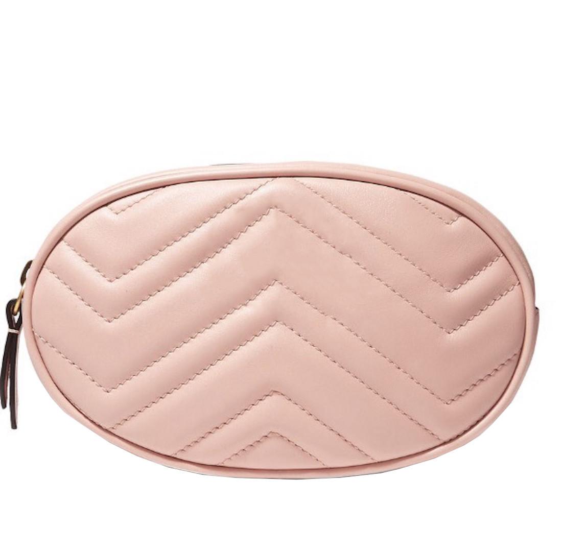 Сумка женская на пояс розовая женская Ins Gc eps-6094
