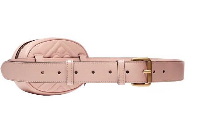 Сумка женская на пояс розовая женская Ins Gc eps-6094, фото 2