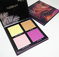 Набор хайлайтеров Huda Beauty Summer Highlighter Palette, фото 1