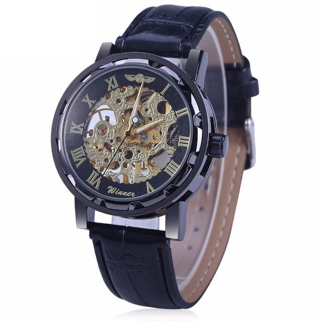 Механические мужские часы WINNER BLACK
