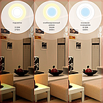 Світлодіодний світильник точковий MAXUS 1-MAX-01-3-SDL-09-S 3-step 9W 3000/3500/4100K Квадратний, фото 4