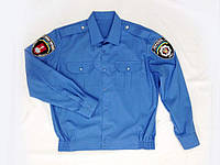 Рубашка/шведка офицерская с шевронами