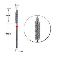 Насадка алмазна D 30 R, циліндр загострений