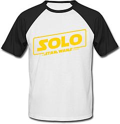 Футболка двухцветная Solo: A Star Wars Story - Logo Yellow