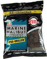 Пеллетс насадочный Dynamite Baits Marine Halibut Pre-Drilled Pellets 21mm 350g