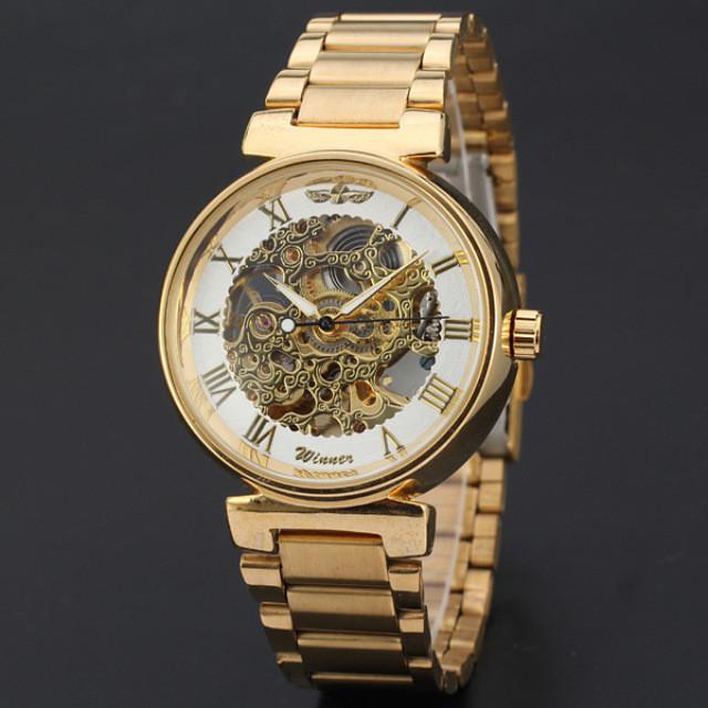 Механические мужские часы WINNER ROUND - купить по лучшей цене в ... 51046cdc49e79