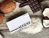 Натуральний шоколад на кэробе без цукру з кунжутом і арахісом ТМ AUGUST