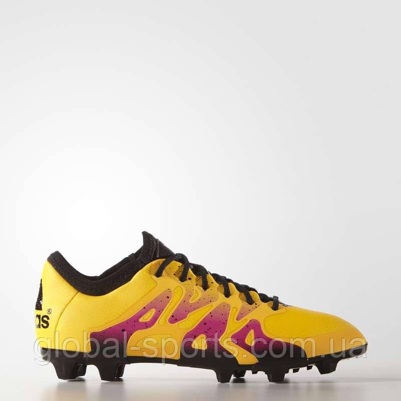 4a714437 Футбольные бутсы Adidas X 15.1 FG/AG Leather(Артикул:S74616), цена 3 ...