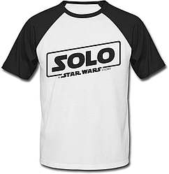 Футболка двухцветная Solo: A Star Wars Story - Black Logo