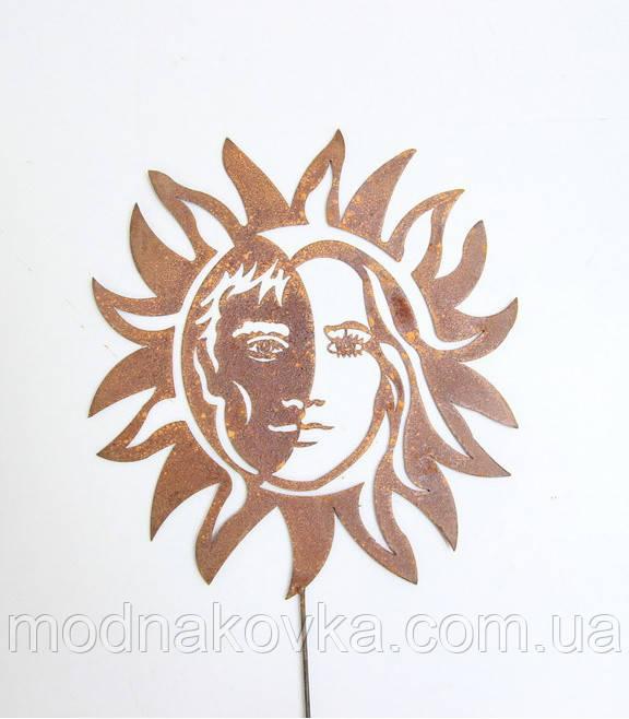 Декор для сада Солнце Инь-Ян