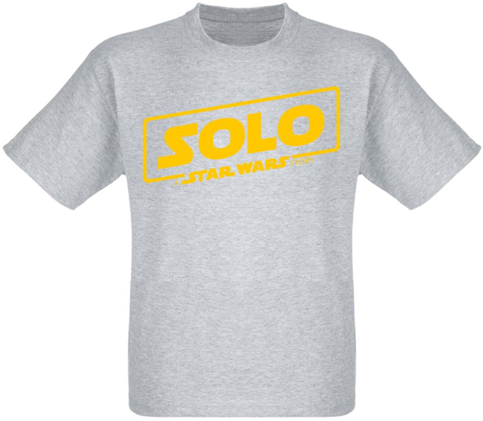 Футболка Solo: A Star Wars Story - Logo Yellow (меланж)