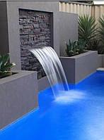 Освещение фонтана, бассейна, водоема герметичная в комплекте с блоком питания, контроллером и пульт управления