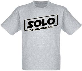 Футболка Solo: A Star Wars Story - Black Logo (меланж)