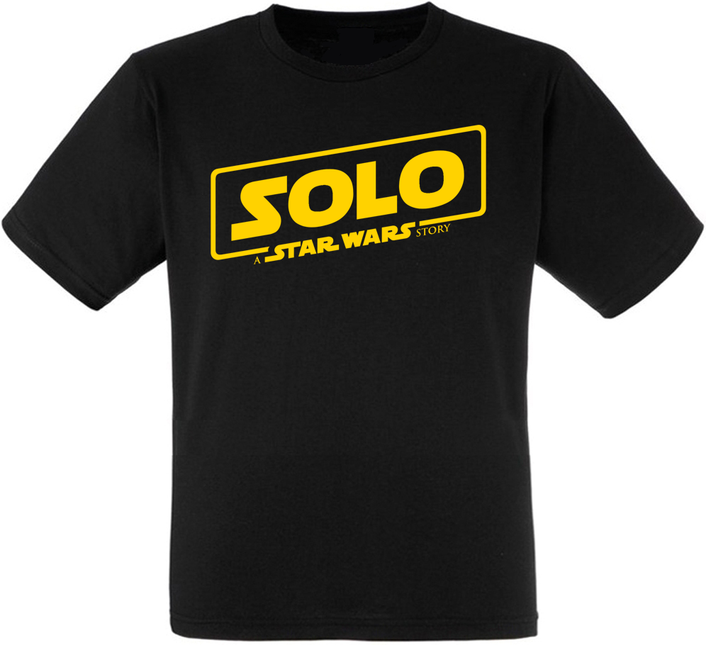 Футболка Solo: A Star Wars Story - Logo Yellow