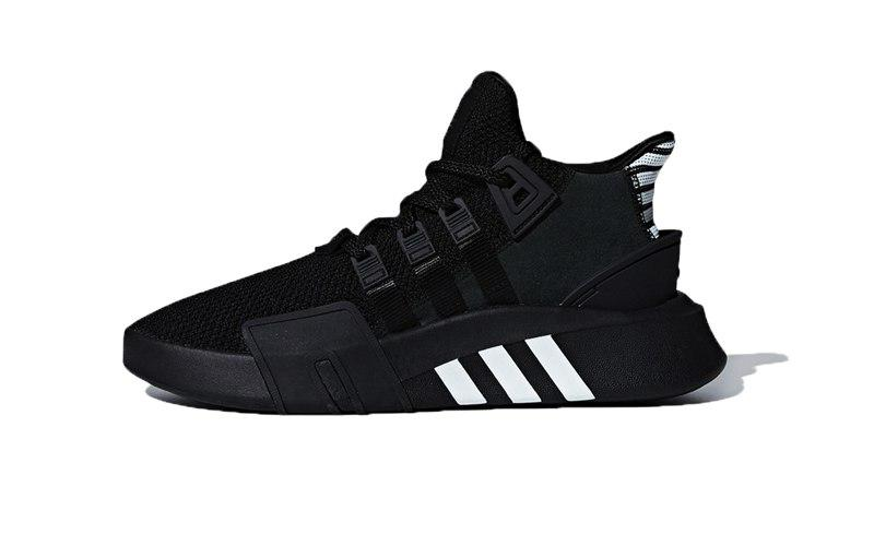 Мужские кроссовки Adidas EQT BASK ADV Black White (реплика)