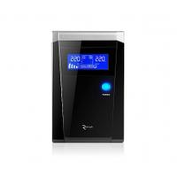 ИБП с правильной синусоидой RITAR RTSW-600 LCD 12В под внешний АКБ Q4 Черный