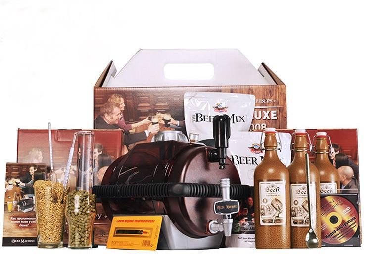 Мини пивоварня deluxe 2008 expert как делать спирт на самогонном аппарате
