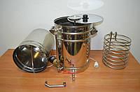 Мини-пивоварня на 36 литров с насосом