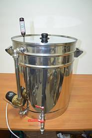 Мини-пивоварня на 62 литра с насосом