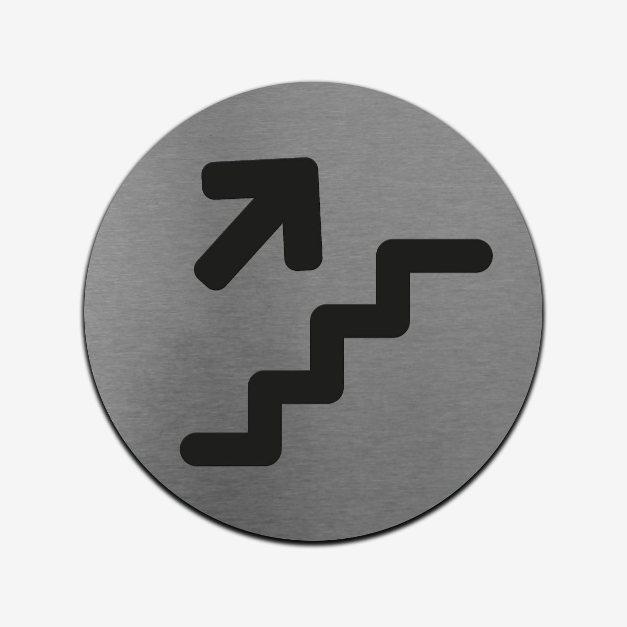 """Табличка круглая """"Навигационная"""" Stainless Steel"""
