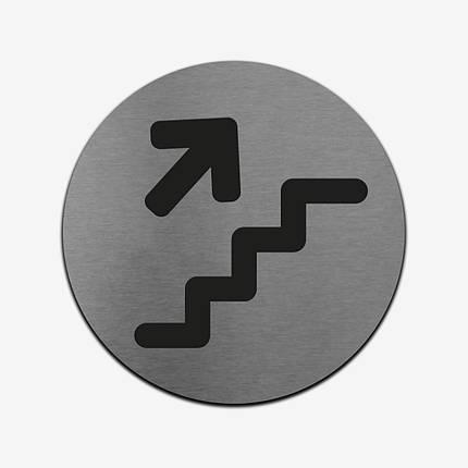 """Табличка круглая """"Навигационная"""" Stainless Steel, фото 2"""