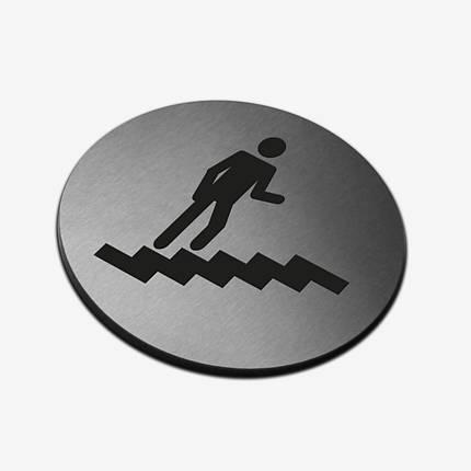 """Табличка кругла """"Навігаційна"""" Stainless Steel, фото 2"""