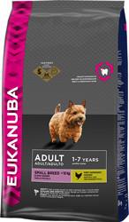 Eukanuba - Экануба корм для взрослых собак  мелких пород с курицей 7,5кг