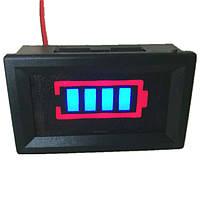 Индикатор (вольтметр) заряда аккумулятора (Синий), фото 1