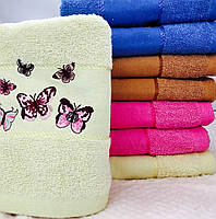 Банные полотенца Бабочка 01