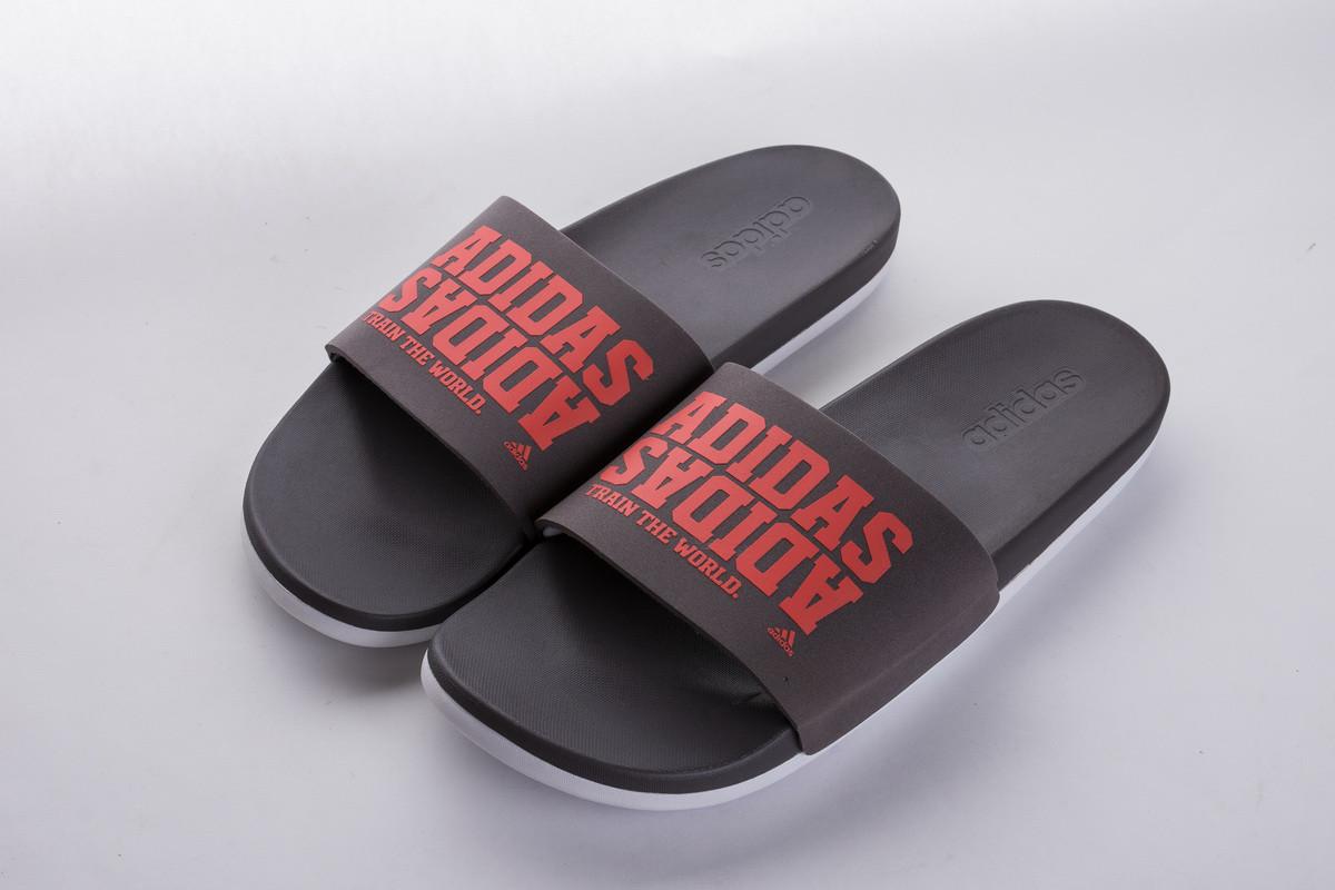 Мужские Шлепанцы Adidas Adilette CF+campus Grey/Red