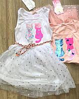 Платья для девочек оптом, S&D, 116-146 см,  № CH-5056