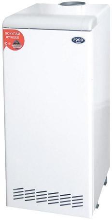 Котлы газовые, напольный газовый котел Стандарт-класса, РОСС - АОГВ - 12 Двухконтурный