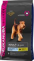 Eukanuba - Экануба корм для взрослых собак крупных пород с курицей 15кг