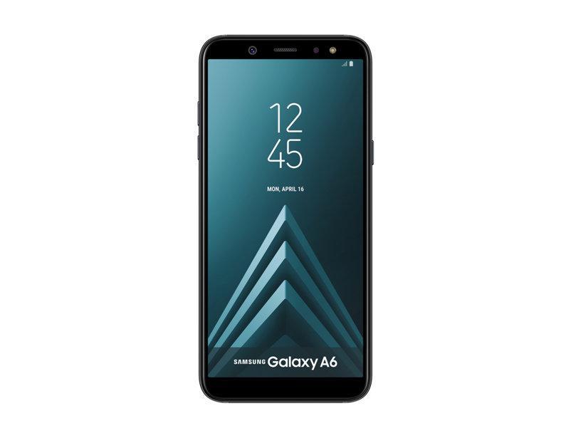 """Смартфон Samsung Galaxy A6 SM-A600 3/32GB Black, 16/16Мп, 5.6"""" AMOLED, 3000mAh, 2sim, Exynos 7870, 8 ядер"""