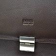 Мужской портфель Bond из натуральной кожи , фото 9