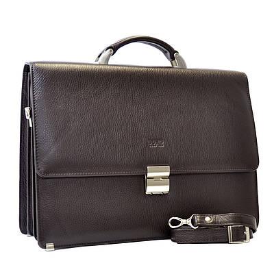 Мужской портфель Bond из натуральной кожи