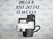 Блок АБС Опель Омега Б, ABS Opel Omega B 0265202512, 13105657