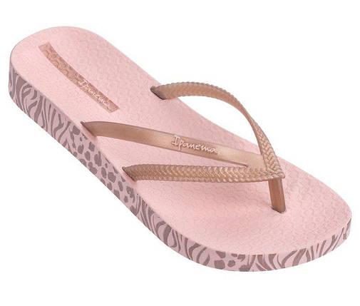 Оригинал Вьетнамки Женские 82282-24185 Ipanema Bossa Soft II Pink/Rose, фото 2