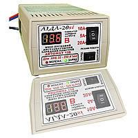 Зарядний АЇДА 20si цифровий екран для кислотних, гелевих та AGM АКБ 32-250А*год