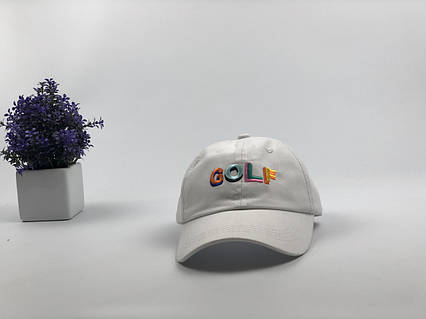 Кепка бейсболка Golf белая, фото 2