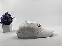 Кепка бейсболка Golf белая, фото 3