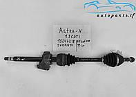 Піввісь права з підвісним підшипником Зафіра Б, Opel Zafira B 1.9 CDTI 2.0 13245907