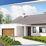Жилой дом по технологии ЛСТК . Цена под ключ площадь дома 177 кв.м., фото 2