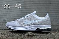 Кроссовки Nike Flyknit Racer найк мужские женские реплика, фото 1