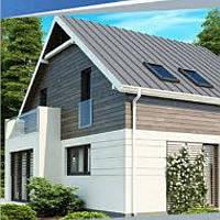 Жилой дом по технологии ЛСТК . Цена под ключ площадь дома 232 кв.м.